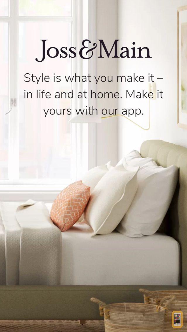 Screenshot - Joss & Main: Furniture & Decor