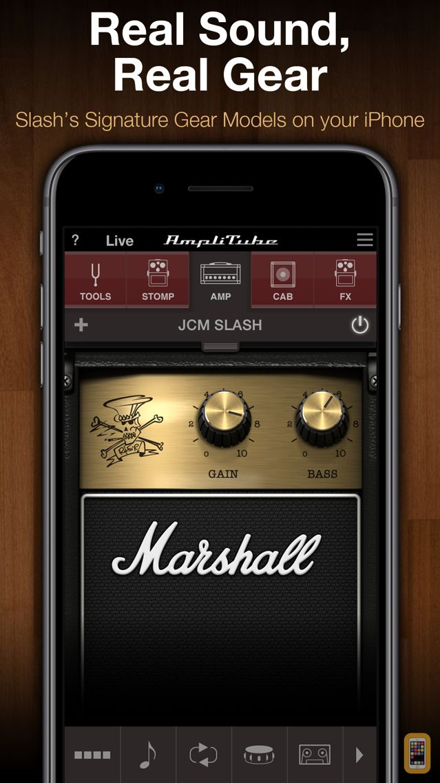 Screenshot - AmpliTube Slash