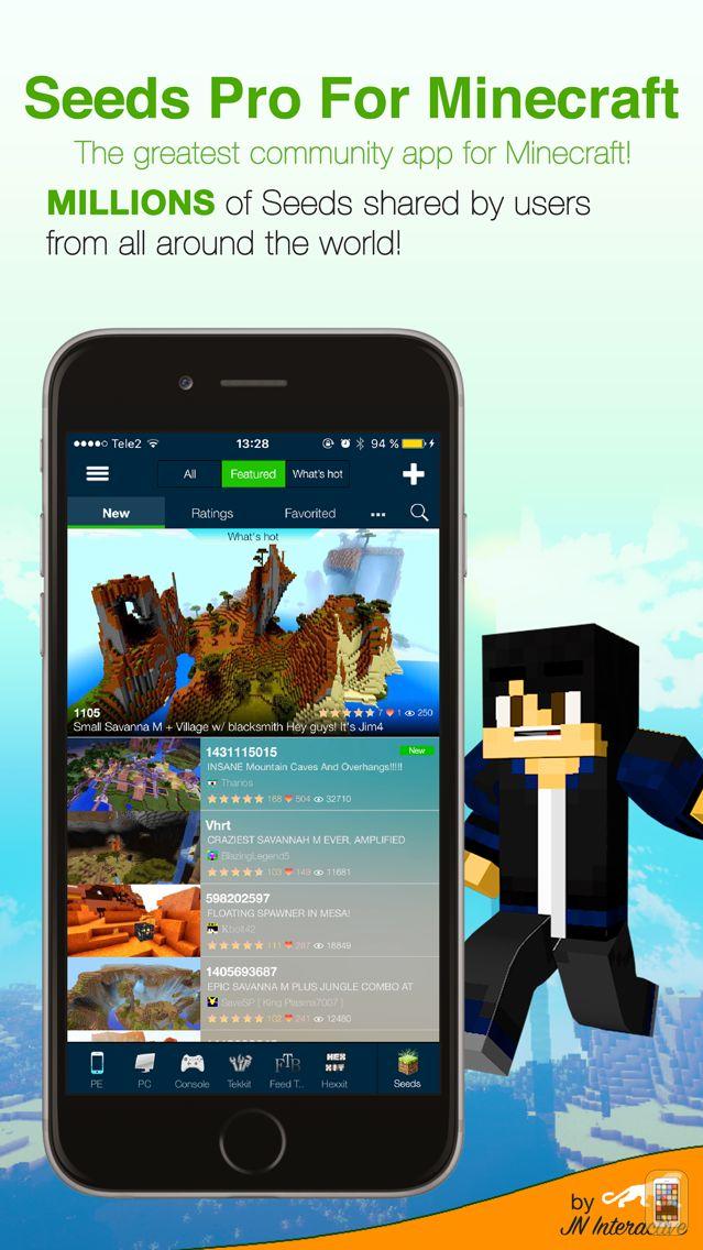 Screenshot - Seeds Pro - Minecraft Edition