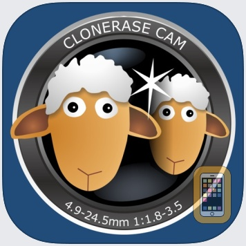 ClonErase Camera - automatic photo manipulation by ZEDOnet (iPhone)