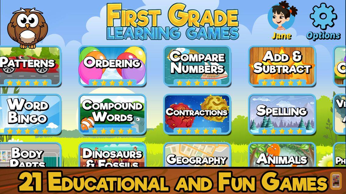 Screenshot - First Grade Learning Games