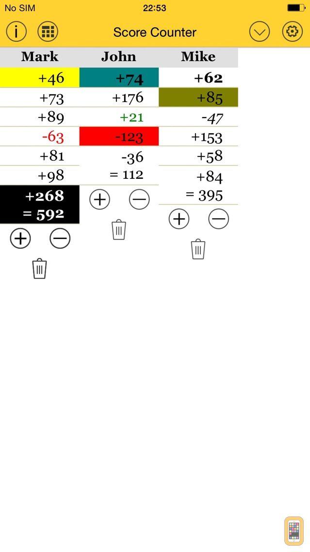 Screenshot - Score Count