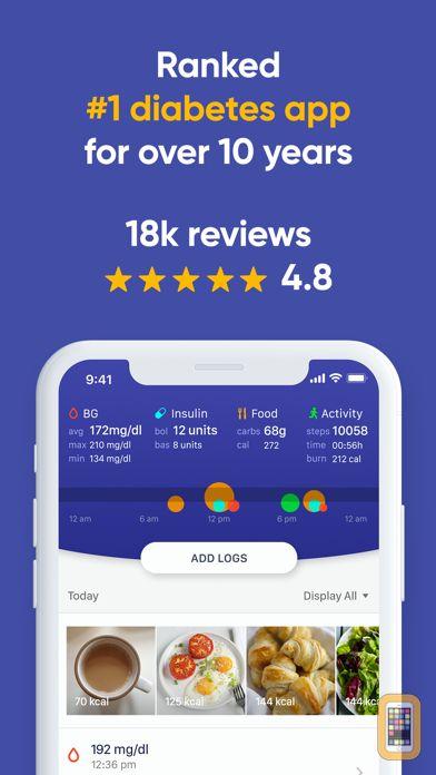 Screenshot - Glucose Buddy+ for Diabetes