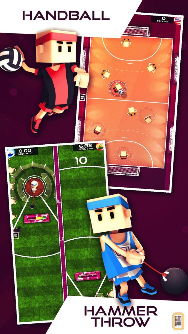 Screenshot - Flick Champions Summer Sports