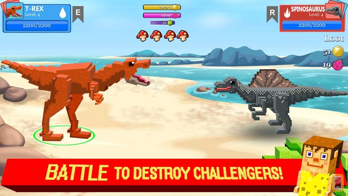Screenshot - Jurassic Pixel Dinosaur Craft