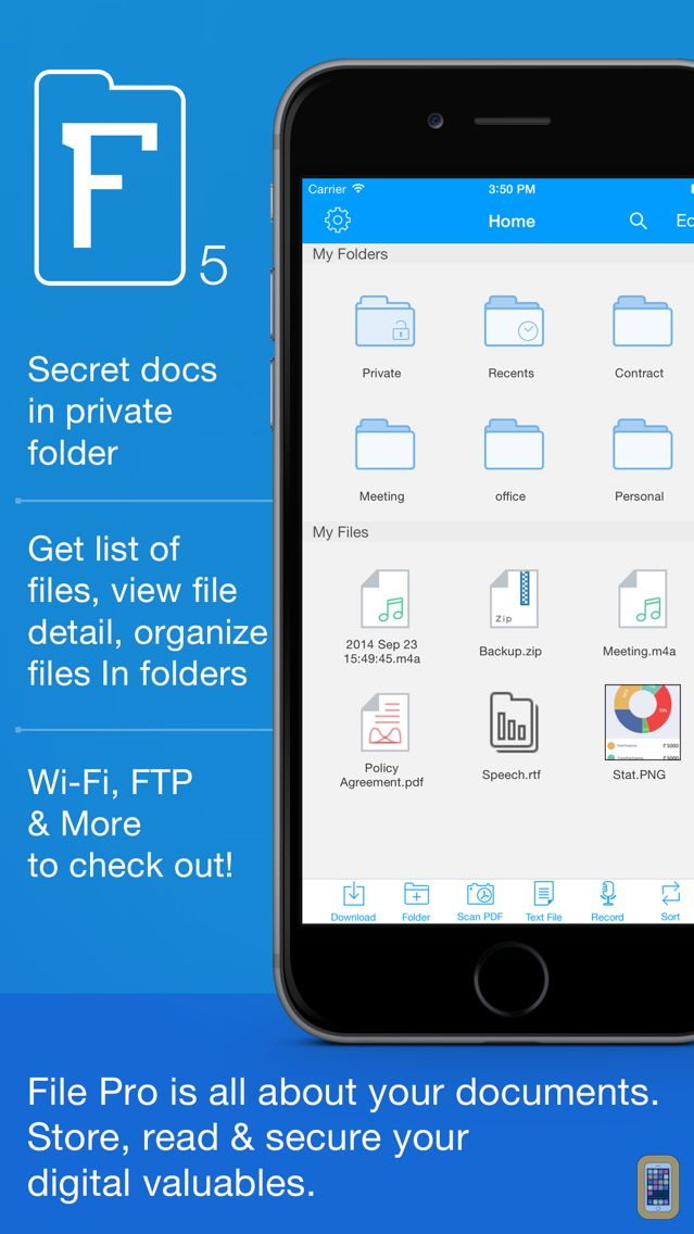Screenshot - File Pro - Ultimate File Manager & PDF Reader