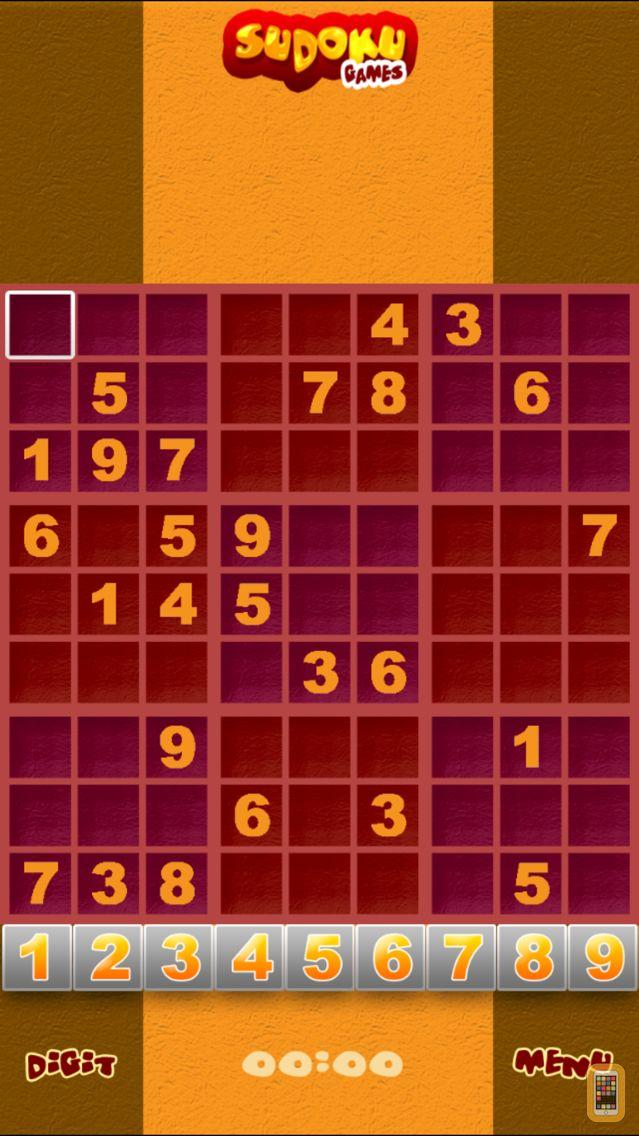 Screenshot - Free Sudoku Puzzle Games