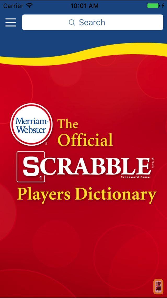 Screenshot - SCRABBLE Dictionary