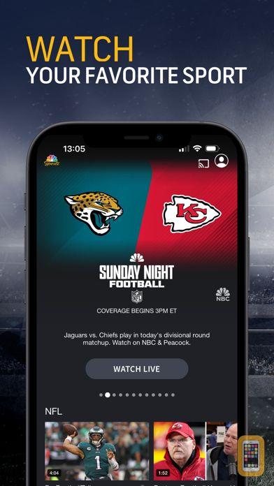 Screenshot - NBC Sports