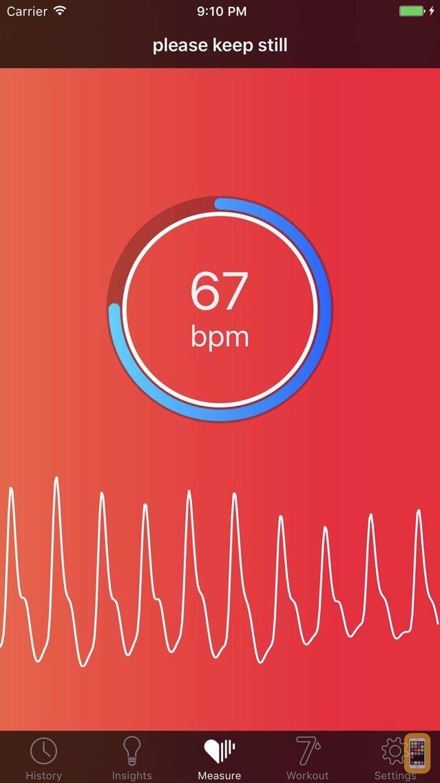Screenshot - Cardiio: Heart Rate Monitor