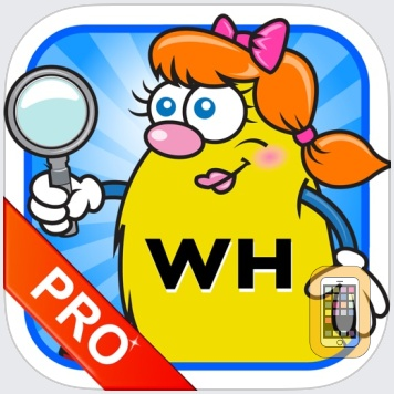 WH Question Cards - Pro: Who, What, When, Where, Why by Super Duper Publications (iPad)