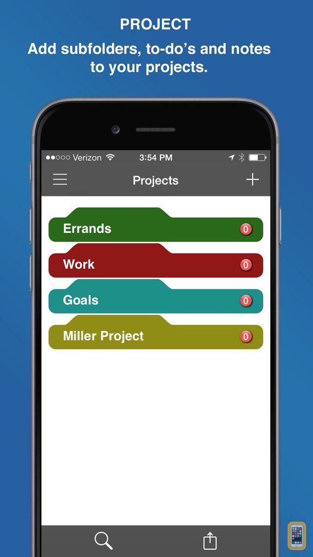 Screenshot - InFocus Pro - All-in-One Organizer