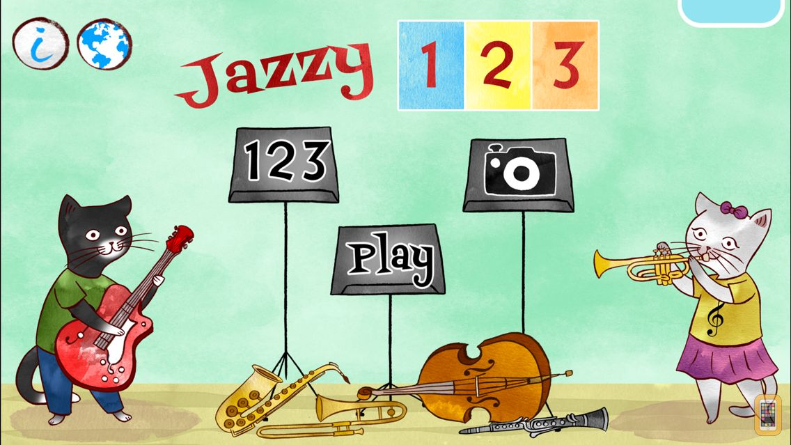 Screenshot - Jazzy 123 - Learn to Count with Music