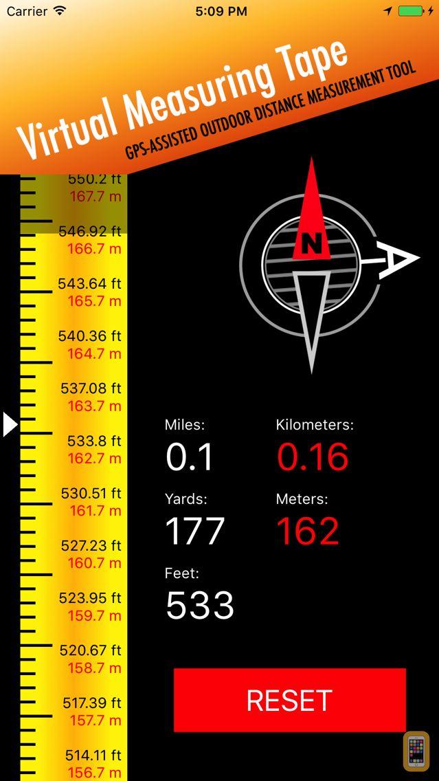 Screenshot - Measuring Tape