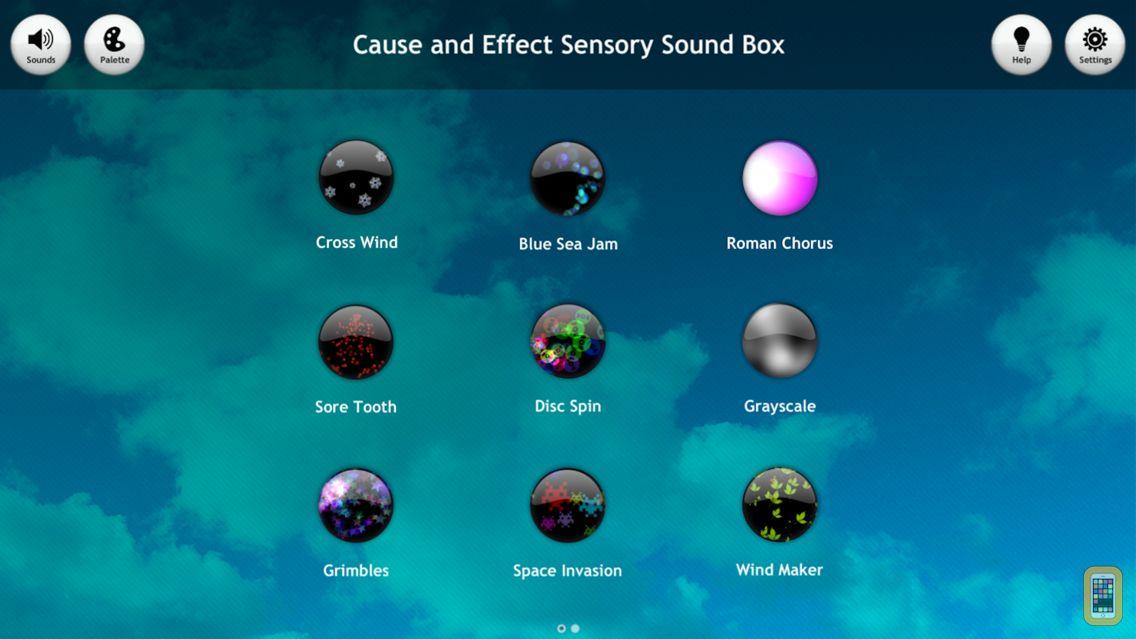 Screenshot - Sensory Sound Box