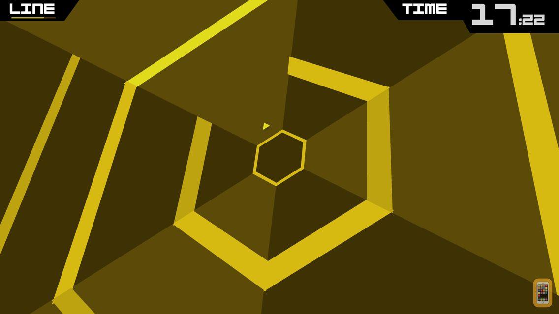 Screenshot - Super Hexagon
