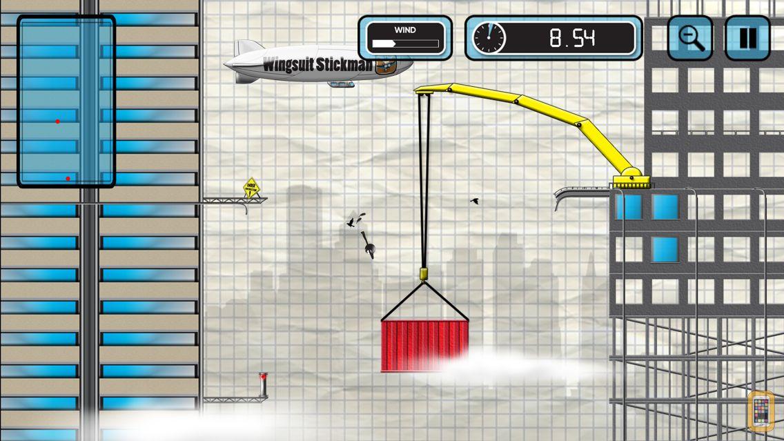 Screenshot - Stickman Base Jumper