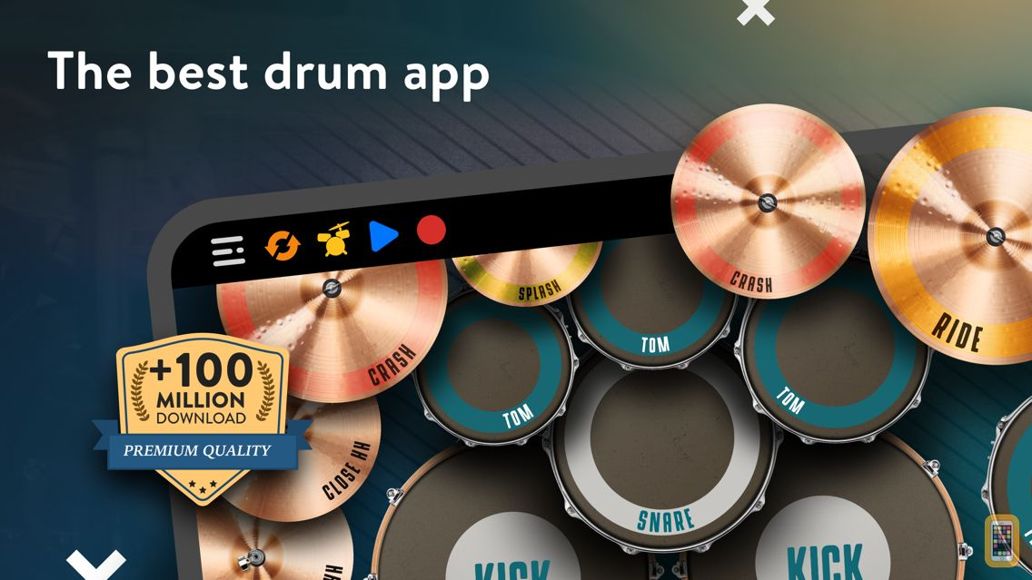 Screenshot - REAL DRUM: Electronic Drum Set