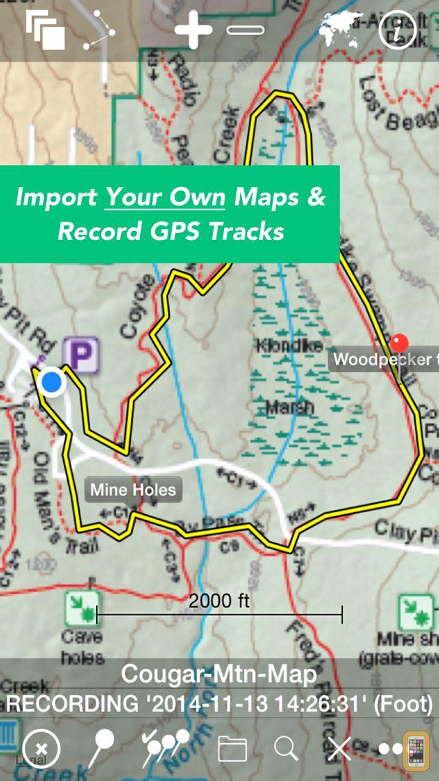 Screenshot - Maps n Trax - Offline Maps, GPS Tracks & Waypoints