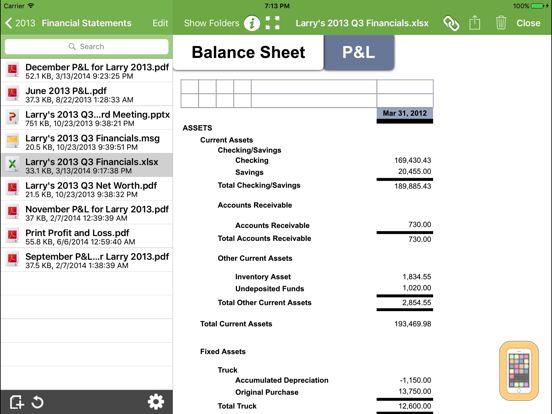 Screenshot - SmartVault for iPad