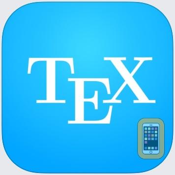 TeX Writer - LaTeX On The Go by Chaoji Li (Universal)