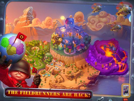 Screenshot - Fieldrunners 2 for iPad
