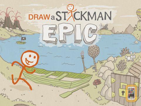 Screenshot - Draw a Stickman: EPIC HD