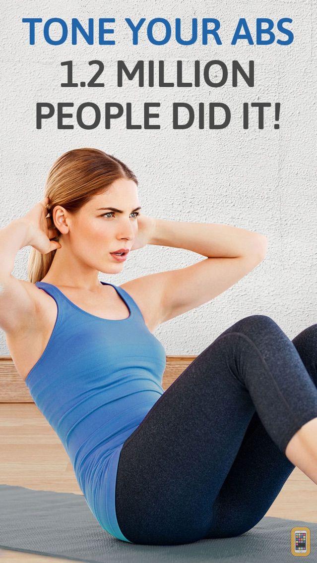 Screenshot - Abs workout: 200 sit ups