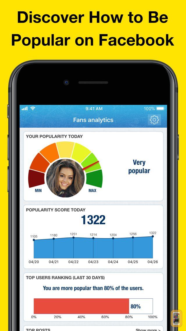 Screenshot - MyTopFans Pro - Social Tracker