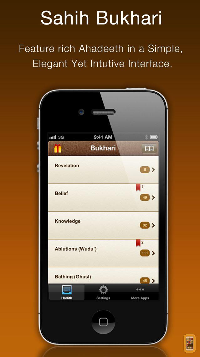 Screenshot - Al Bukhari (Sahih Bukhari)