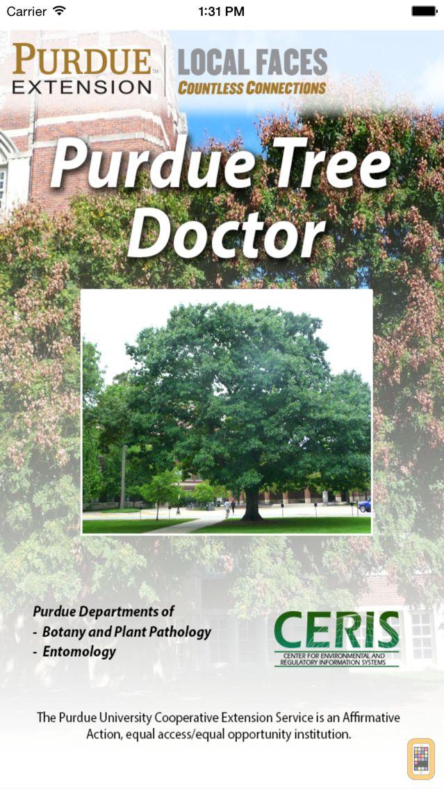 Screenshot - Purdue Tree Doctor