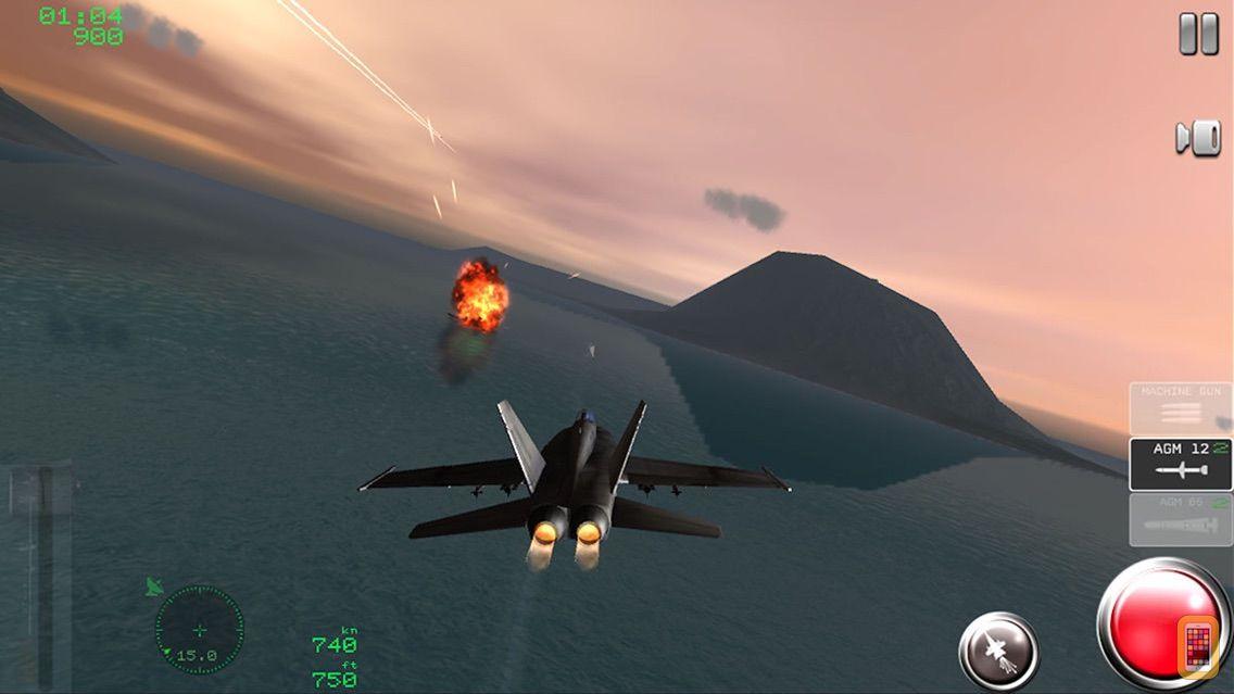 Screenshot - Air Navy Fighters Lite