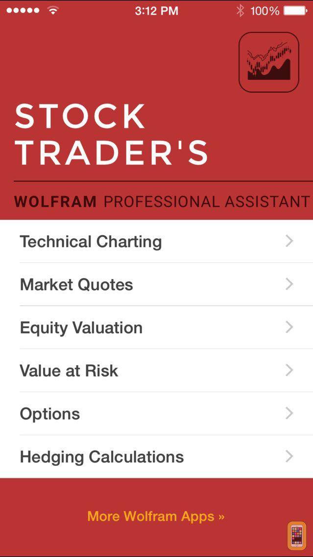 Screenshot - Wolfram Stock Trader's Professional Assistant
