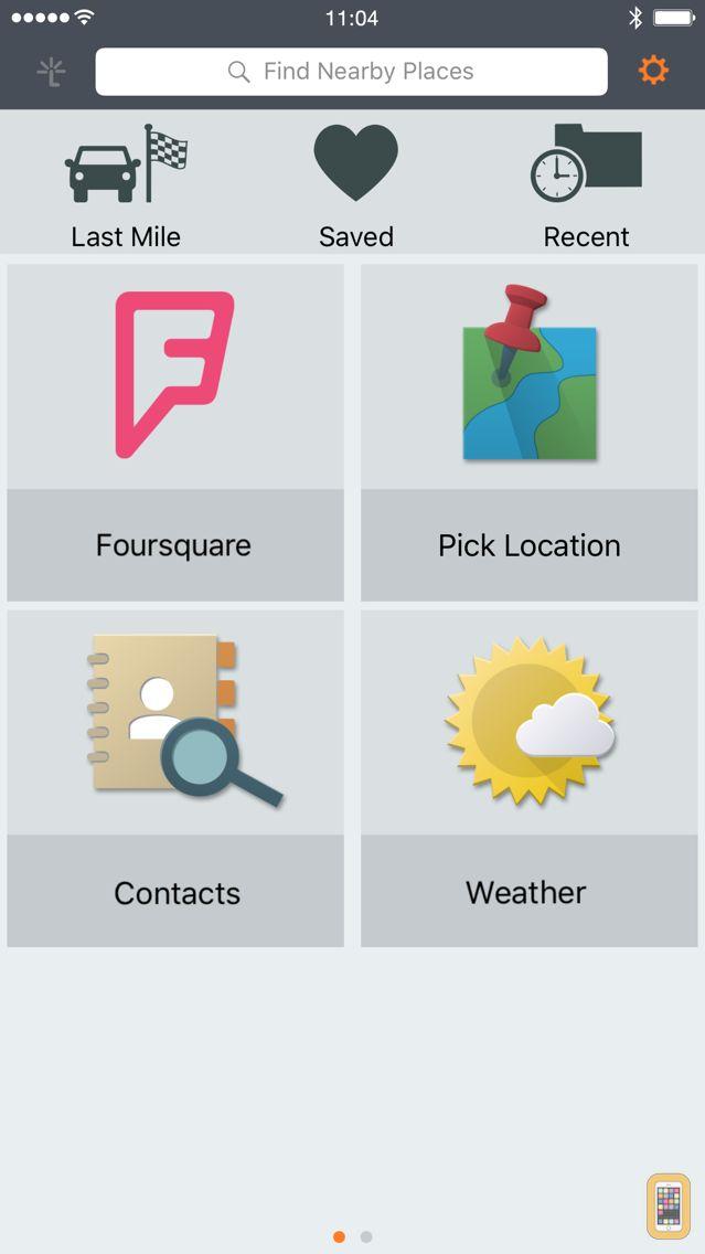 Screenshot - Garmin Smartphone Link
