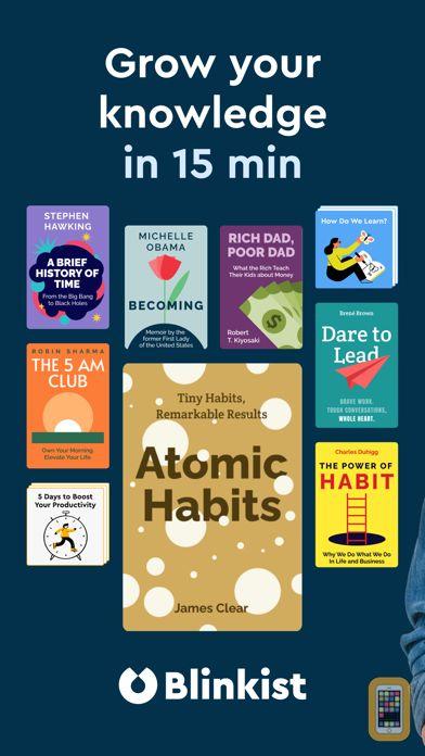 Screenshot - Blinkist: 15min Book Insights