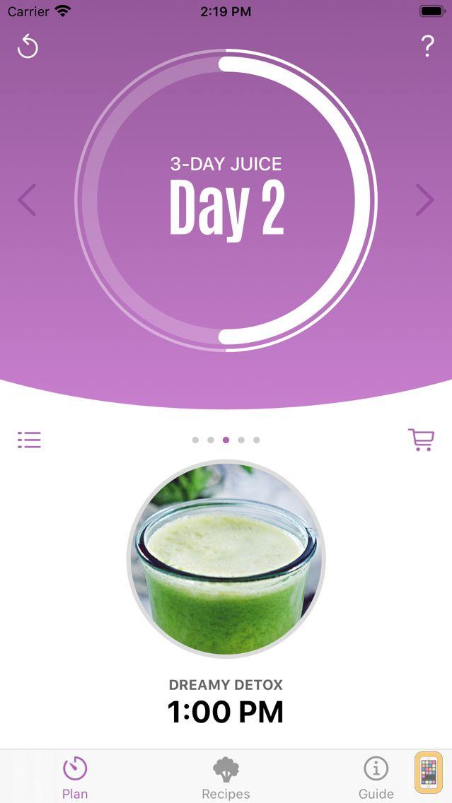 Screenshot - Jason's 3-Day Juice Challenge
