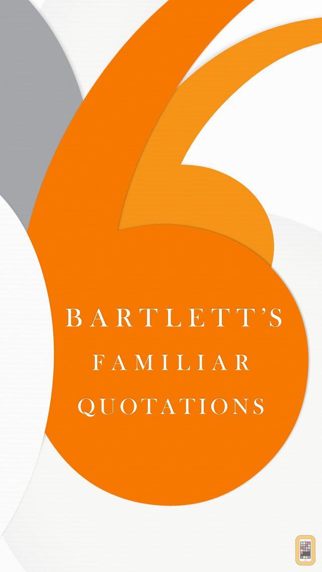 Screenshot - Bartlett's Familiar Quotations