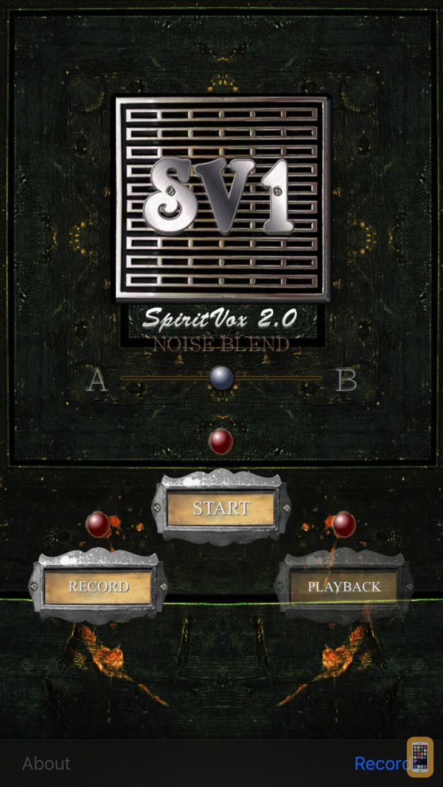Screenshot - SV-1 SpiritVox