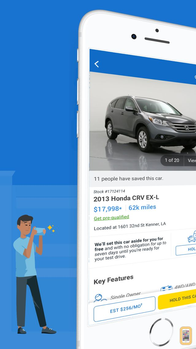 Screenshot - CarMax: Used Cars for Sale