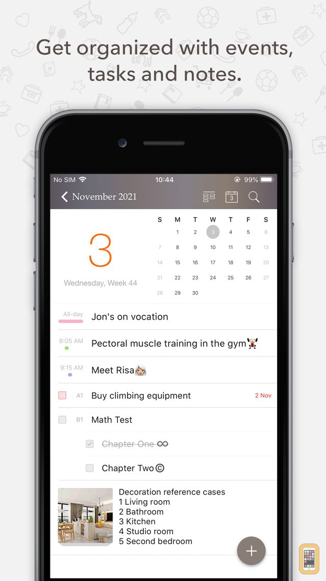 Screenshot - Planner Pro - Daily Calendar