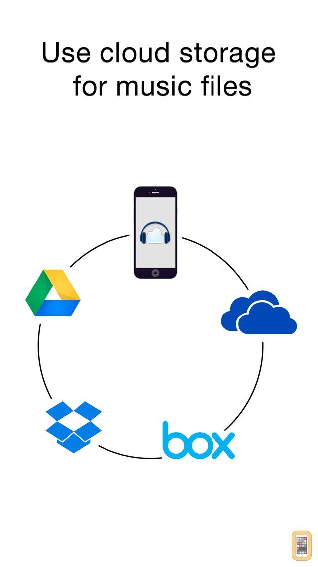 Screenshot - CloudBeats: music player