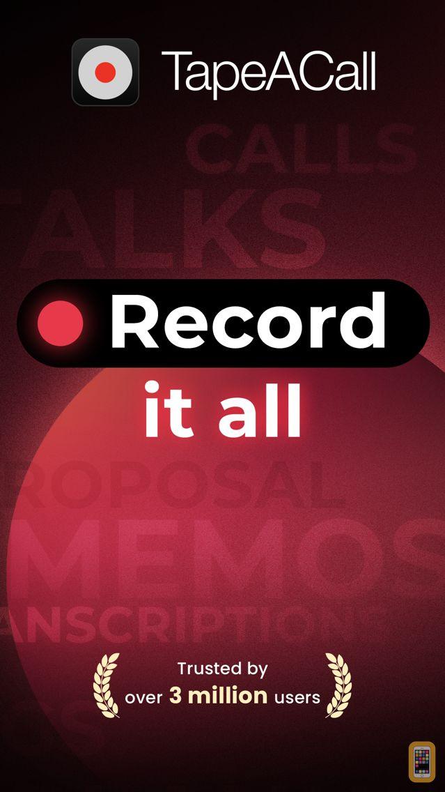 Screenshot - TapeACall: Call Recorder
