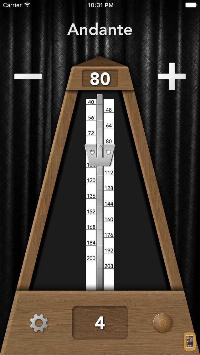 Screenshot - TrueMetronome