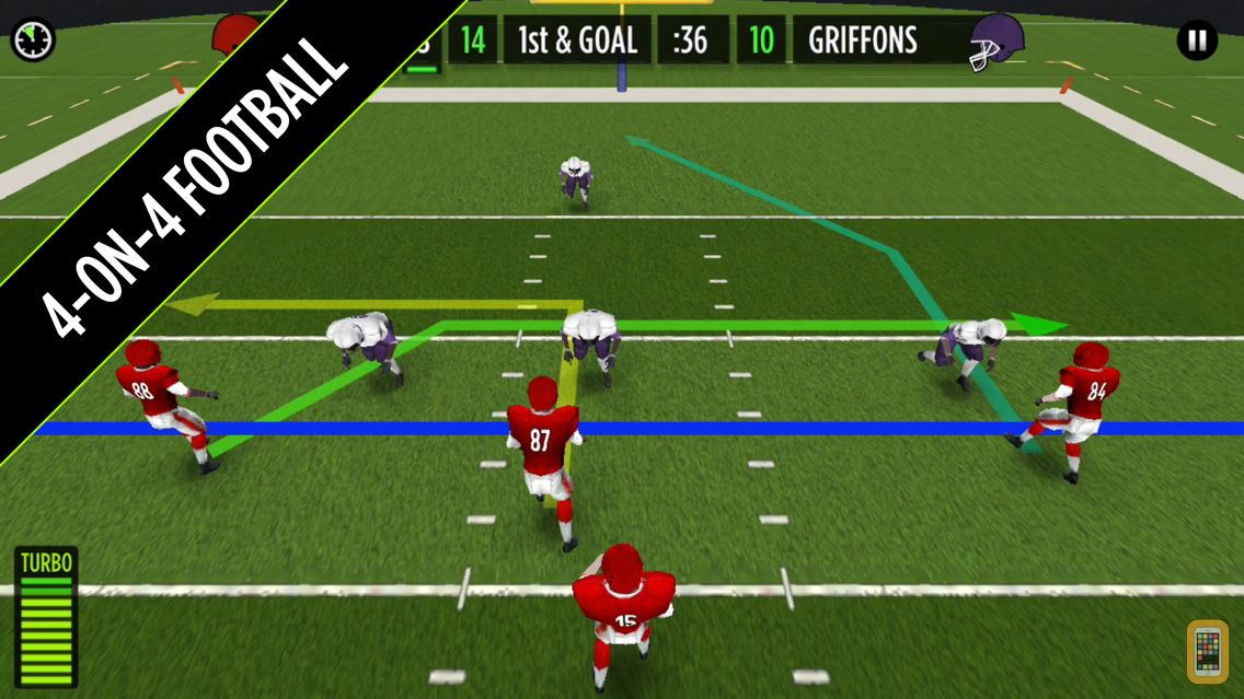 Screenshot - GameTime Football with Mike Vick : A Real Quarterback Sports Game