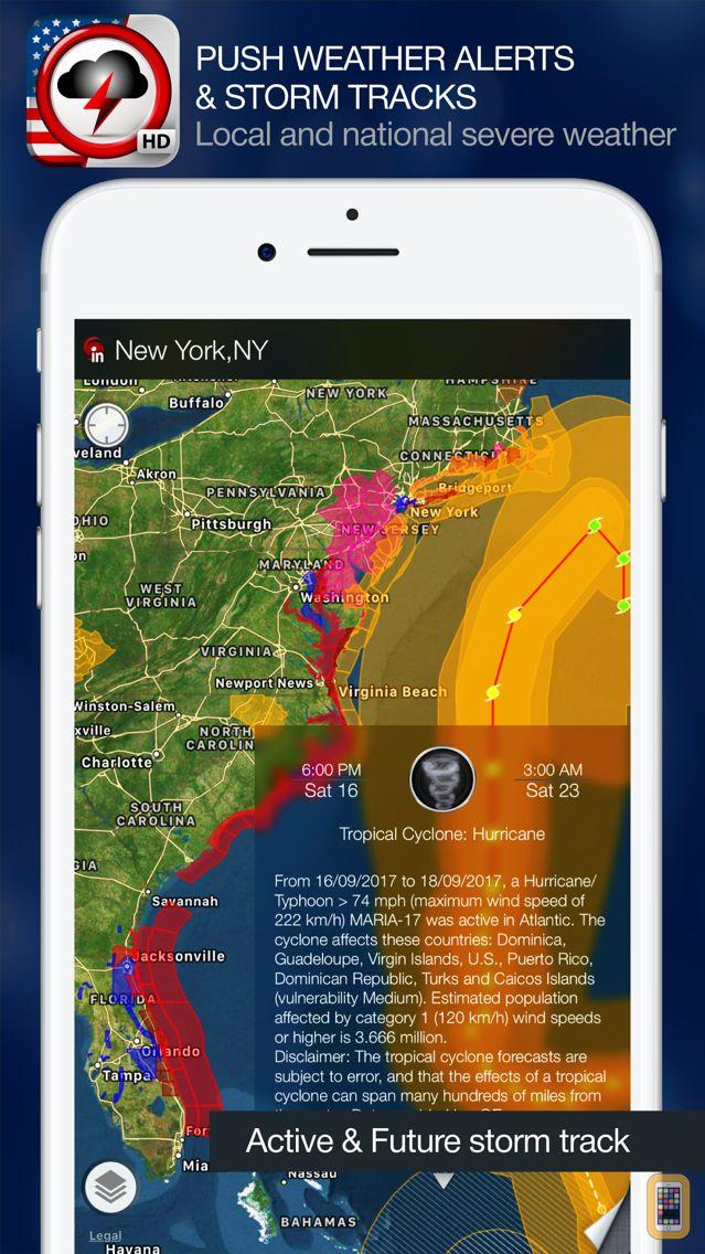 Screenshot - Weather Alert Map USA