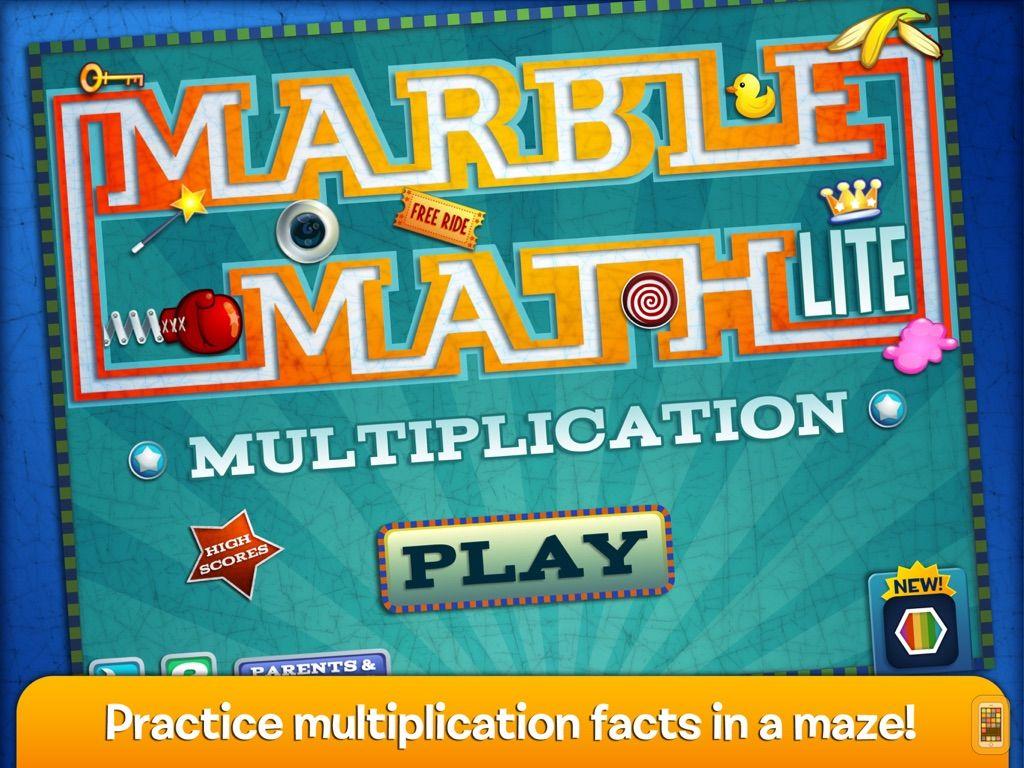 Screenshot - Marble Math Multiplication