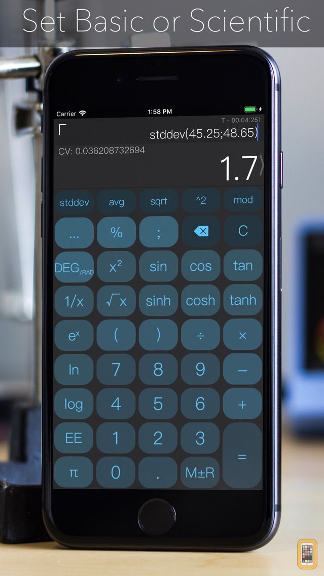 Screenshot - CALC Smart