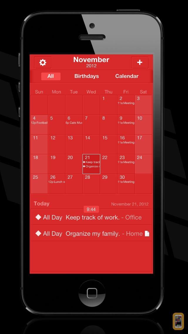 Screenshot - The Grid - Calendar