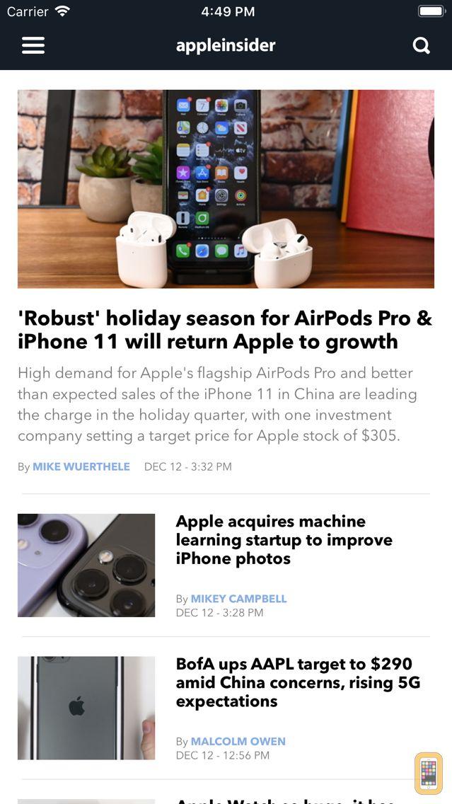 Screenshot - AppleInsider