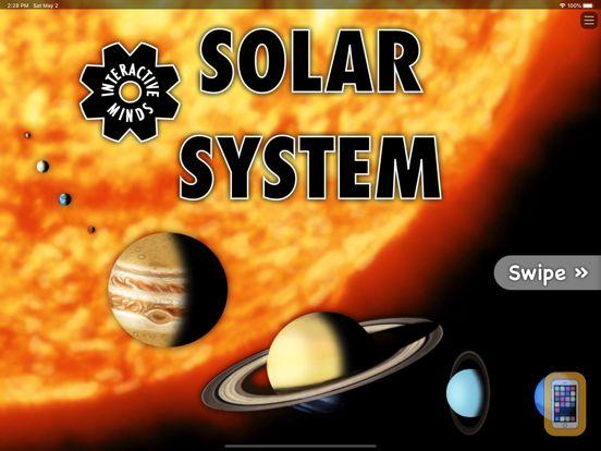 Screenshot - Interactive Minds Solar System